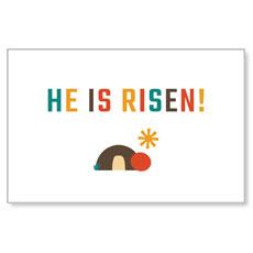 UMC Easter Risen Postcard