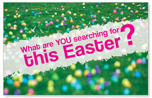 UMC Easter Search Postcards