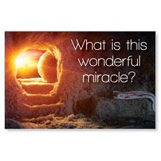 UMC Easter Wonderful Miracle Postcard