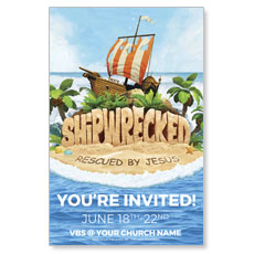 Shipwrecked Postcard