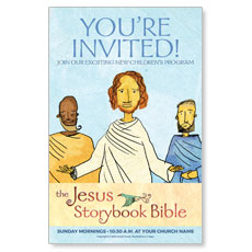 Jesus Storybook Bible Postcard