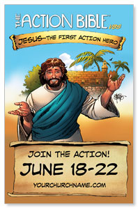 The Action Bible VBS 4/4 ImpactCards