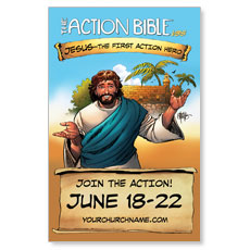 The Action Bible VBS Postcard