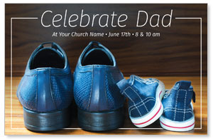 Celebrate Dad Shoes 4/4 ImpactCards