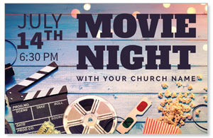 Movie Night 4/4 ImpactCards