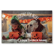 Costume Dog Postcard