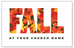 Fall Bold Leaves Postcards