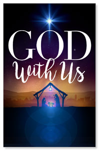 God With Us Advent Postcards