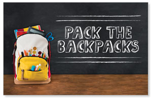 UMC Backpack Postcards