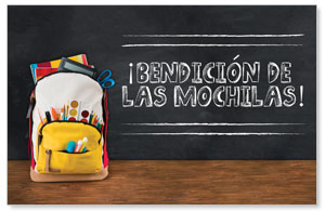 UMC Backpack Blessings Spanish Postcards