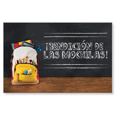 UMC Backpack Blessings Spanish