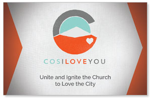 COS I Love You Church Postcards