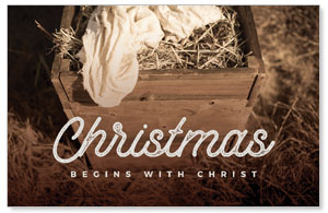 Christmas Manger 4/4 ImpactCards