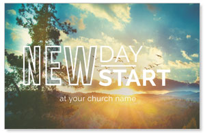 New Day New Start Church Postcards