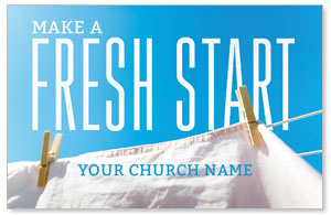 Fresh Start Clothes Line 4/4 ImpactCards