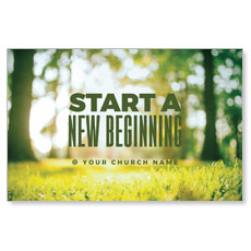 Start New Beginning Green