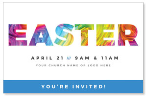 CMU Easter Invite 2019 Church Postcards
