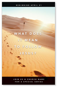Following Jesus Sand Dunes 4/4 ImpactCards