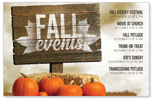 Fall Events Pumpkins 4/4 ImpactCards