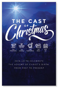 The Cast of Christmas ImpactCards
