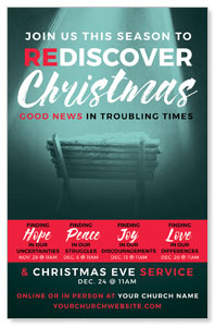 ReDiscover Christmas Advent Manger 4/4 ImpactCards