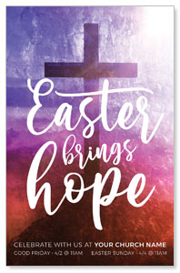 Easter Brings Hope Cross 4/4 ImpactCards
