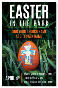 Easter In Park Grass 4/4 ImpactCards