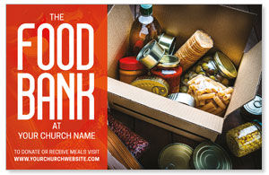 Food Bank Box 4/4 ImpactCards