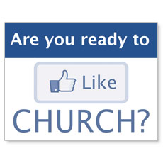 Like Church InviteCard