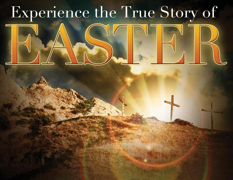 True Story Easter Invitecard Church Invitations