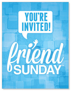 Friend Sunday InviteCards