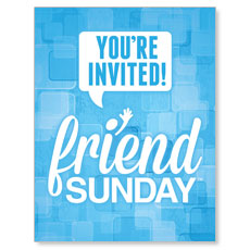 Friend Sunday InviteCard