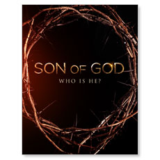 Son of God Crown Small Postcard