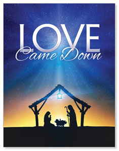 Love Came Down InviteCards