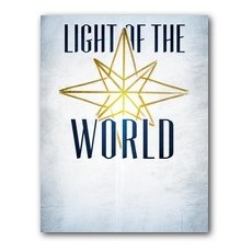 Light of the World Star InviteCard