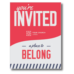 To Belong Red ImpactMailers