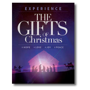 The Gifts of Christmas Advent InviteCards