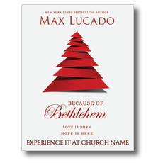 Because of Bethlehem InviteCard