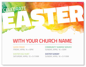 Celebrate Easter Events ImpactMailers
