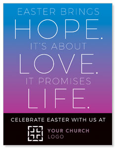 Hope Love Life InviteCards