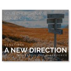 A New Direction InviteCard