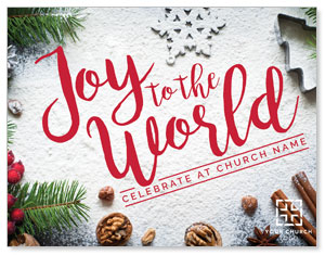 Joy To The World Snow ImpactMailers