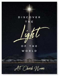 Discover Light of World InviteCards