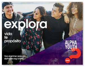 Alpha Youth Purple Spanish ImpactMailers