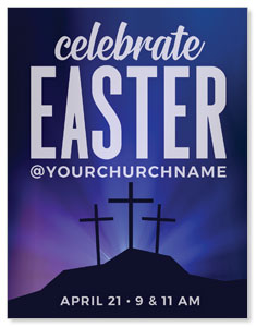 Aurora Lights Celebrate Easter ImpactMailers