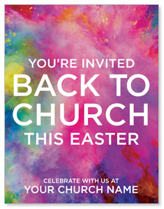 Back to Church Easter ImpactMailers