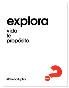 Alpha Explore Spanish White ImpactMailers
