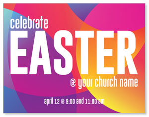 Curved Colors Easter ImpactMailers