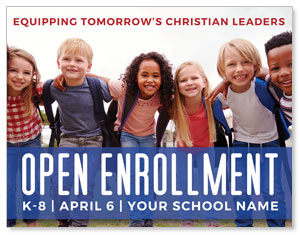 Kids Enroll Together ImpactMailers