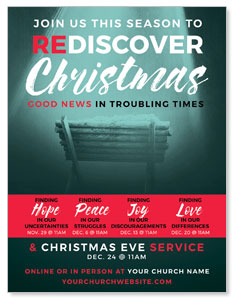 ReDiscover Christmas Advent Manger ImpactMailers